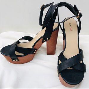 Black Platform Heels - never worn